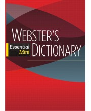 Webster\'s Essential Mini Dictionary